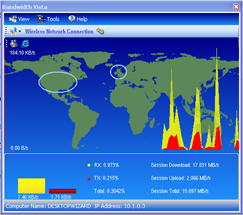 Bandwidth Vista Screenshot 1