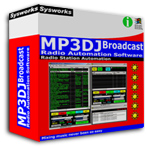 MP3DJ Broadcast, Radio Automation Software Screenshot