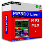 MP3DJ Music Mixing DJ Software Screenshot