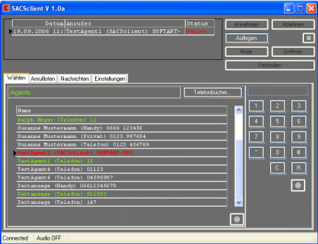 SoftArt CAPI Server 30 Calls Screenshot