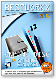 BESTWORKX EXECUTIVE - 3000+ A4 Kalender-Einlagen 2007. Screenshot