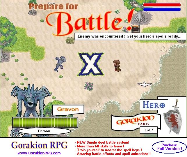 Gorakion RPG Screenshot 1