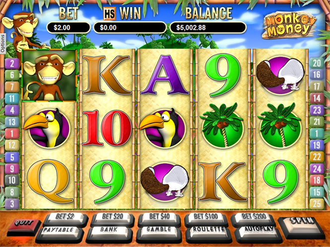 Pokie Magic: Monkey Money Screenshot