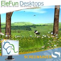 Spring  Valley - Animated Screensaver Screenshot 1