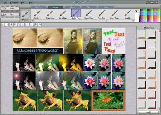 G.Express Photo Editor Screenshot