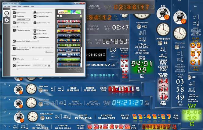 Clock-on-Try Lite Screenshot