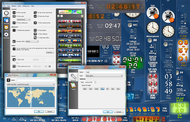 Clock-on-Try Standard Screenshot