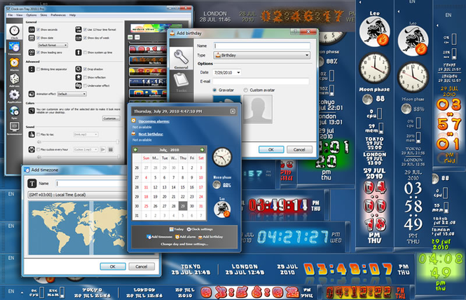 Clock-on-Try Pro Screenshot