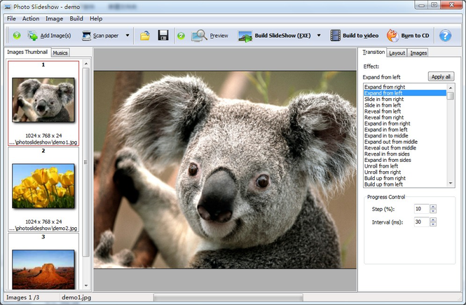Boxoft Photo SlideShow Builder Screenshot 2