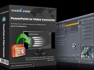 mediAvatar PowerPoint to Video Converter Screenshot