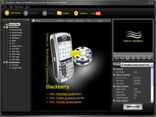 Clone2Go Video to Blackberry Converter Screenshot