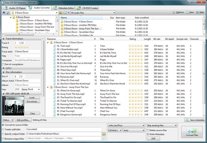 Easy CD-DA Extractor Screenshot 2