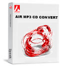 Air MP3 CD Convert Screenshot
