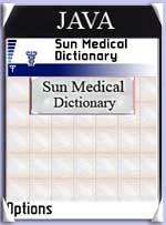 Sun Medical Dictionary Screenshot