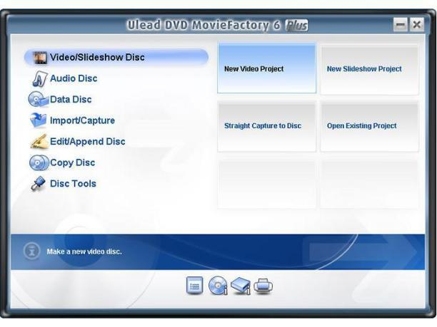 DVD MovieFactory Plus Screenshot 1