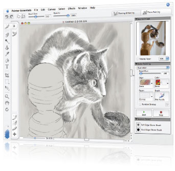 Corel Painter Essentials Screenshot