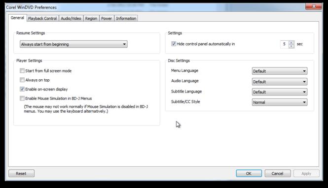 WinDVD Pro Screenshot 3