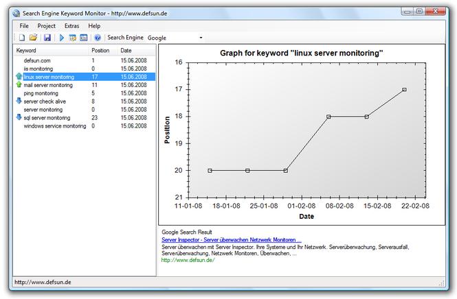 Server Inspector Screenshot