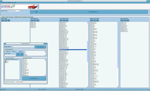 Domain Fetcher Screenshot 1