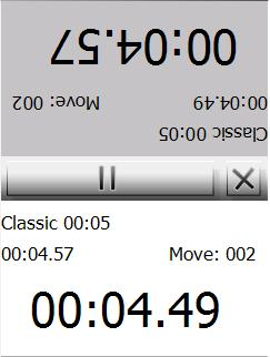 Go Chess Clock Light Screenshot
