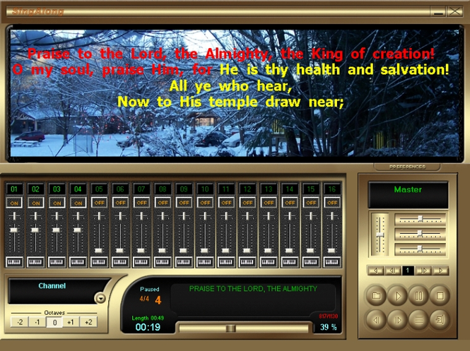 SingAlong Player (FREE Edition) Screenshot