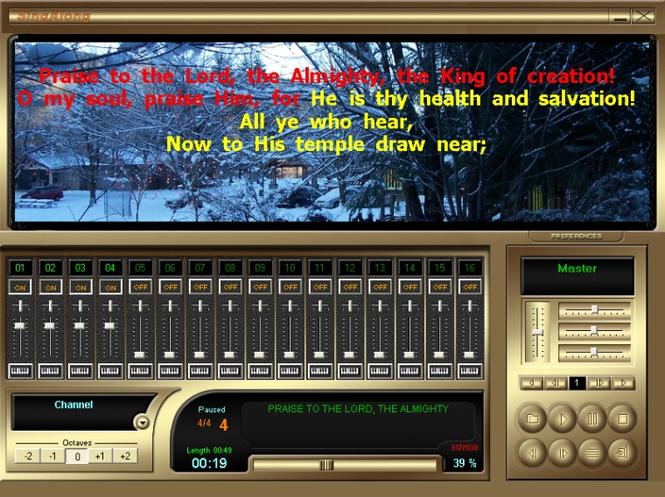 SingAlong Player (FREE Edition) Screenshot 1