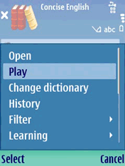 Audio Oxford English & Thesaurus (3rd) Screenshot