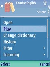 Audio Oxford English & Thesaurus (3rd) Screenshot 1