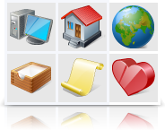 Vista Artistic Icons (Vector set) Screenshot