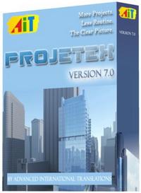 Projetex 7.0 - 1 Server, 100 Workstations Screenshot