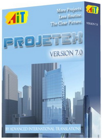 Projetex 7.0 - 1 Server, 3 Workstations Screenshot 1