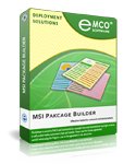 EMCO MSI Package Builder Starter Screenshot 1