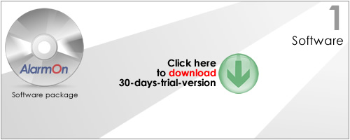 AlarmOn Software Screenshot 1