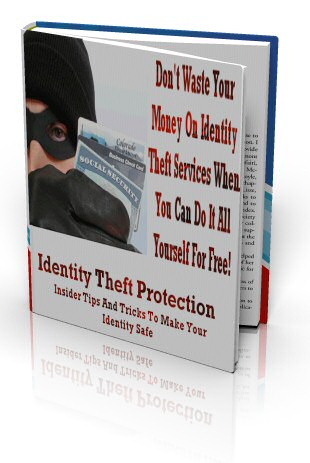Identity Theft Protection Screenshot