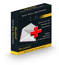 Easy Mail Recovery Personal License RU Screenshot