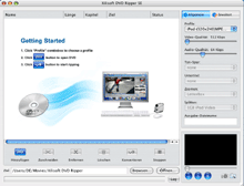 Xilisoft DVD Ripper Platinum for Mac 5 Screenshot