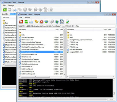 .NET Network Suite for CS VB ASP.NET Screenshot 1