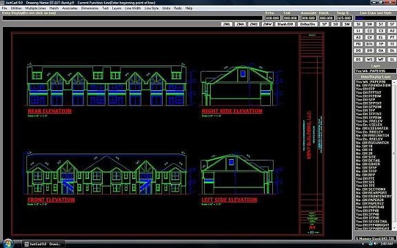 JustCad Screenshot 1