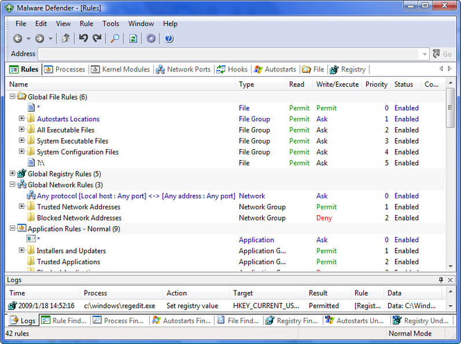 Malware Defender Screenshot 2
