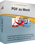 LOADSTREET PDF zu Word Screenshot 1
