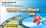 EasyMovie upgrade to MPEG Video Wizard DVD Screenshot