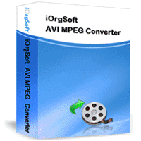 iOrgSoft AVI MPEG Converter Screenshot