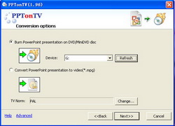 PPTonTV(PowerPoint2video Builder) Screenshot