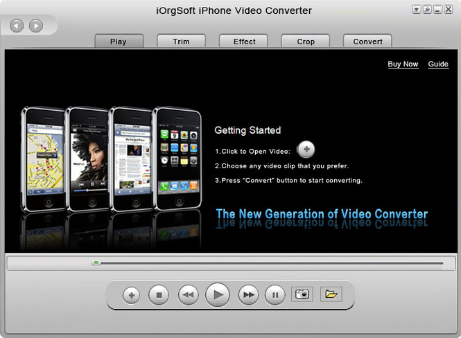 iOrgSoft iPhone Video Converter Screenshot 1