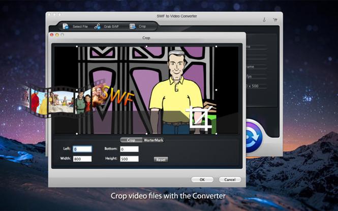 iOrgSoft SWF Converter Screenshot