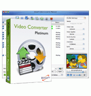 Xilisoft Video Converter Platinum for Mac Screenshot 1