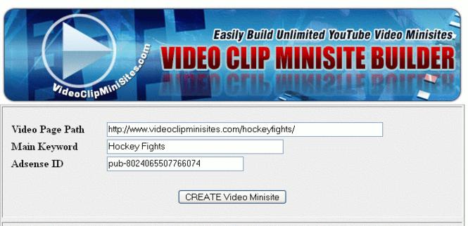 Free Website Builder Screenshot