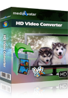 mediAvatar HD Video Converter Screenshot