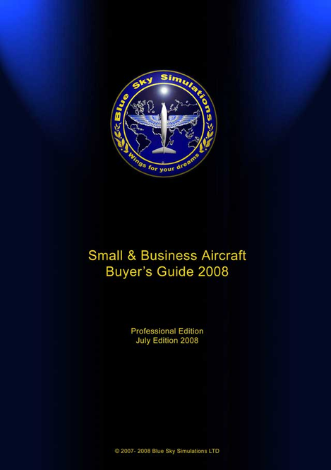Blue Sky Simulations Small and Business Aircraft Buyer's Guide July 2008 single Screenshot 1