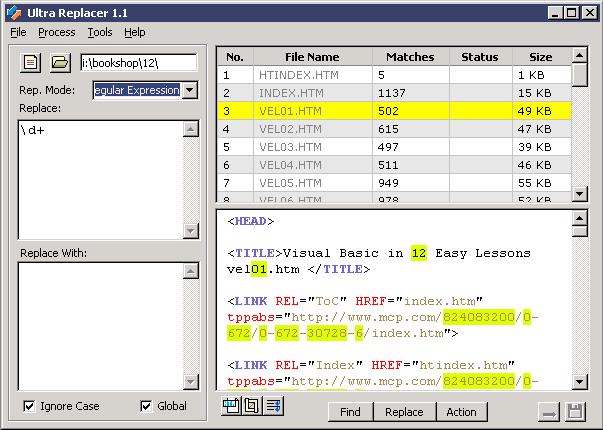 Ultra Replacer Screenshot 1